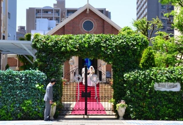 洋風の結婚式場